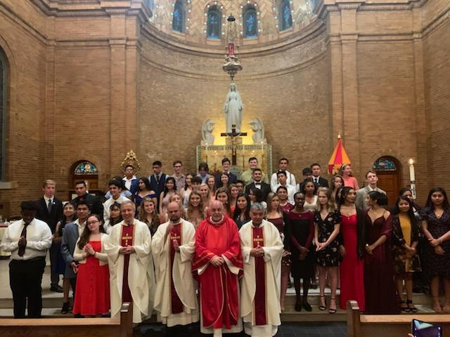 Confirmation Fall 2019 Group Photo - 2