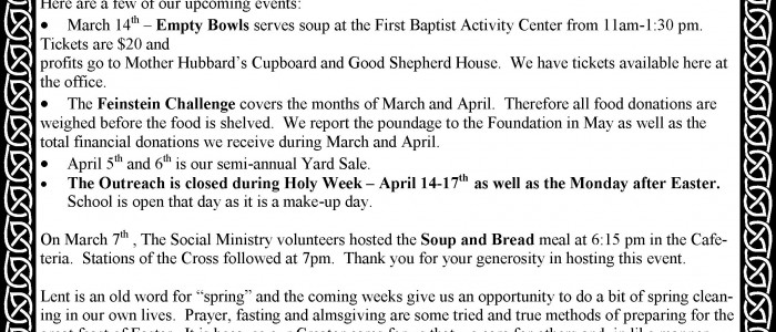 StMaryOutreach-March2014Newsletter