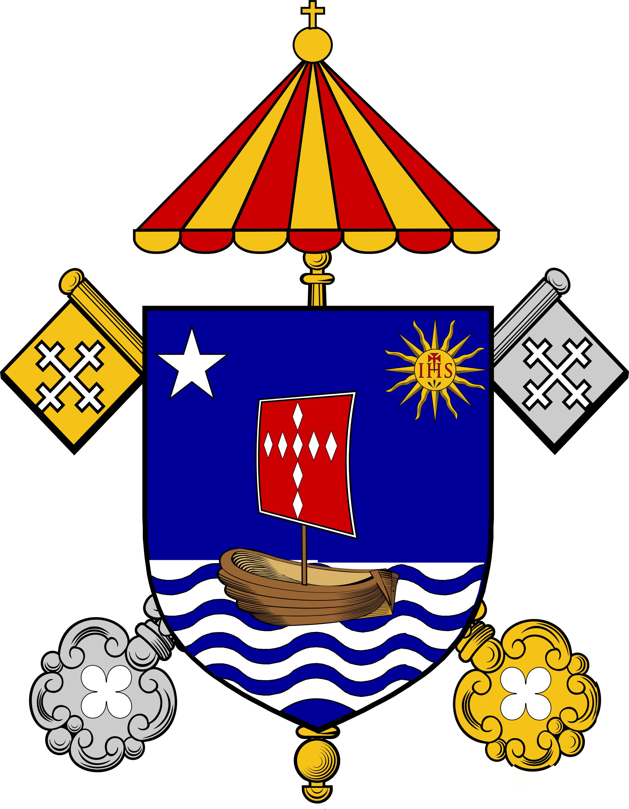 Basilica Shrine Of Saint Mary Basilica Coat Of Arms