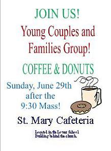 YoungFamiliesAnnouncement6-29-14-Coffee