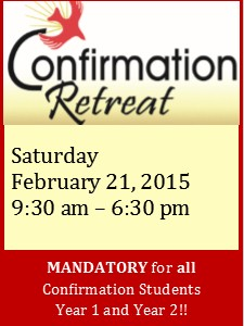 Confirmation Retreat 218