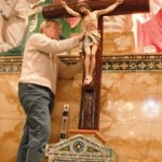 Installation of Cross (7)