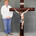 Melanie Aman and completed cross