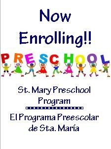 Prek-now enrolling
