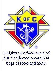 KofC Food Drives