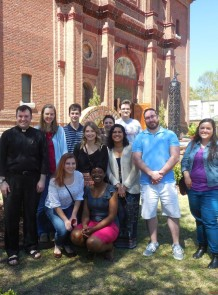 Fr. Ryan Elder w St. Michael - Cary - Young Adult Group April 1, 2017