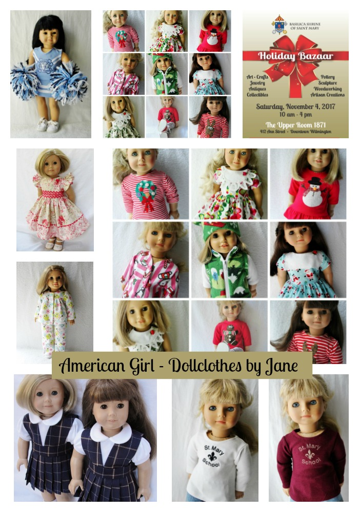 American Girl Dollclothes by Jane