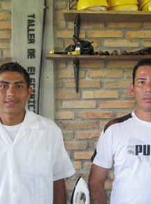 student & teacher