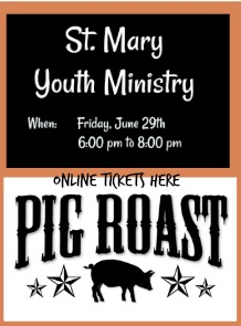 PIG ROAST TICKETS 218X295