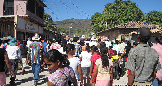 St. Sebastian's Feast Day, Reitoca, F.M., Honduras