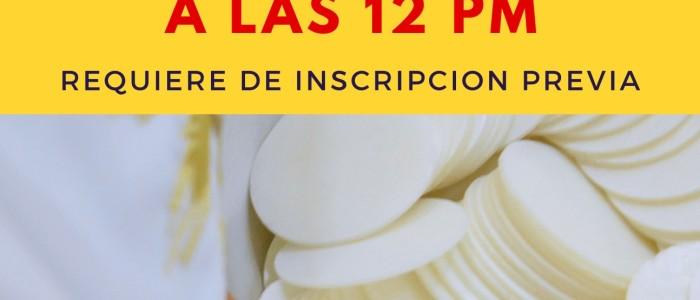 Spanish Mass 12pm